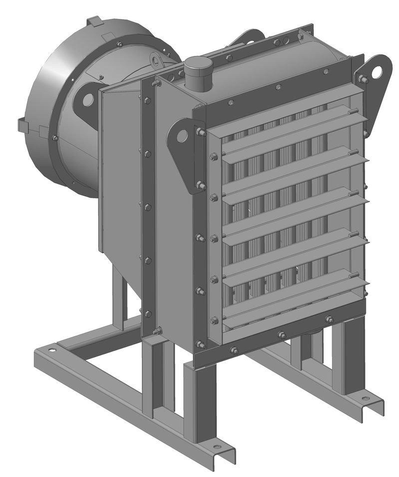 Агрегат воздушно-отопительный АО2П