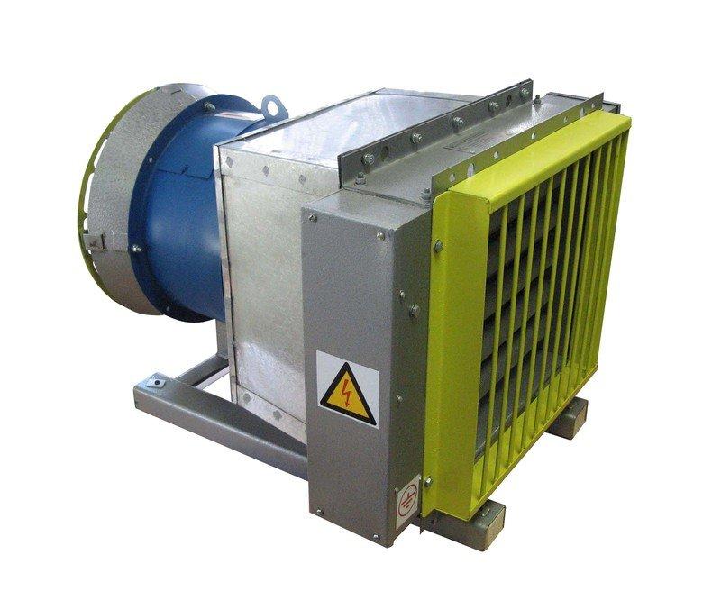 Электрокалориферная установка