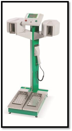 HF серия Мониторы загрязнения рук и ног