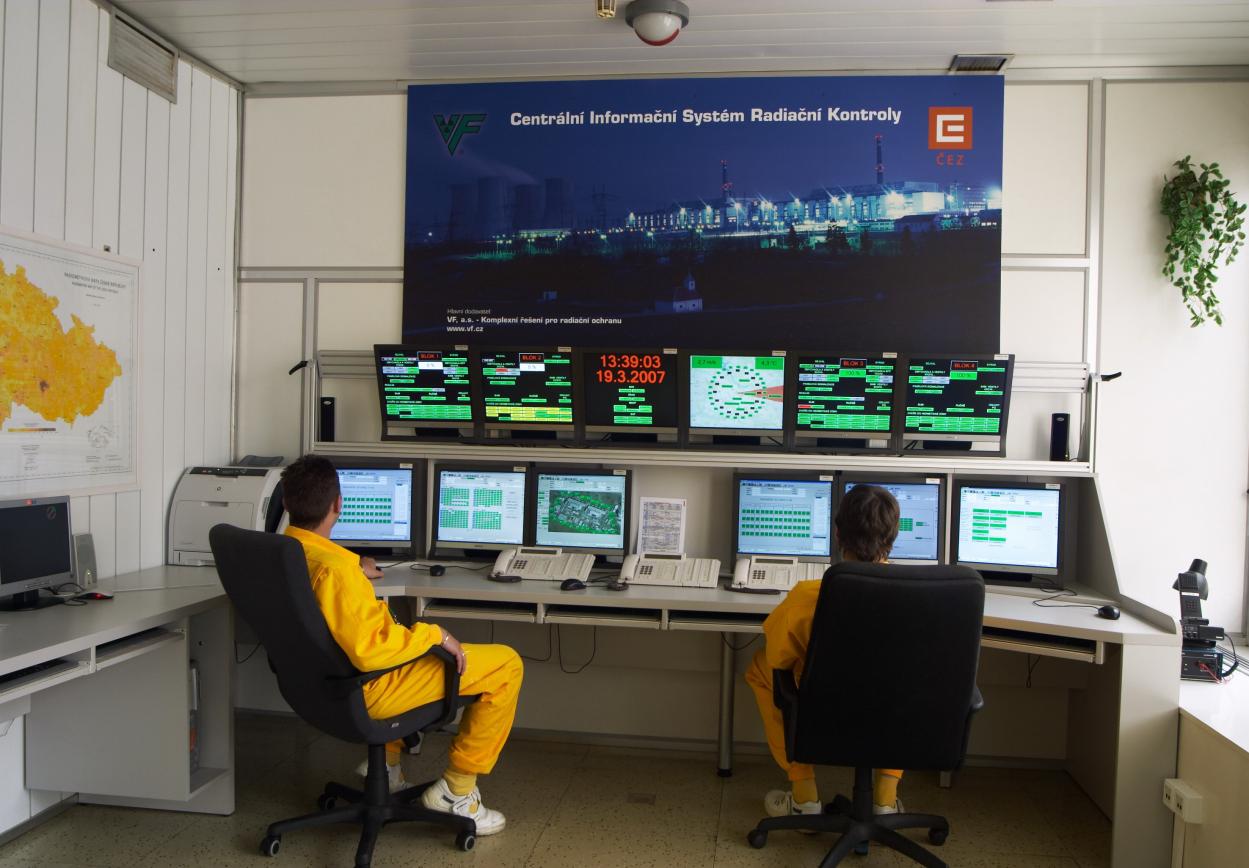 Информационная система контроля и мониторинга радиационной обстановки
